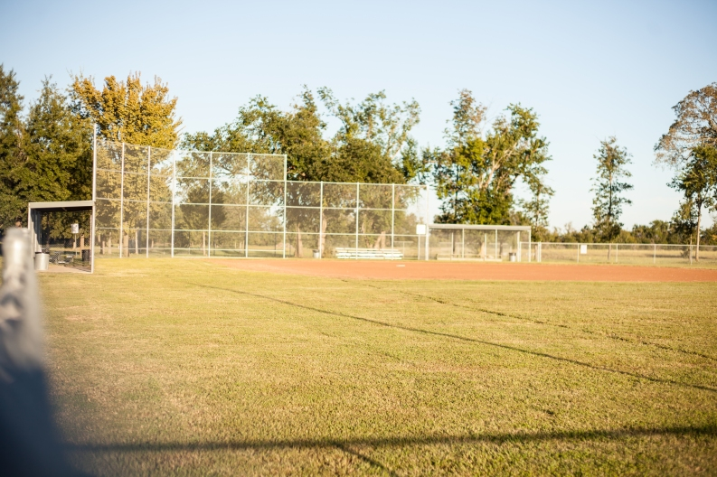 Commercial Softball Backstop